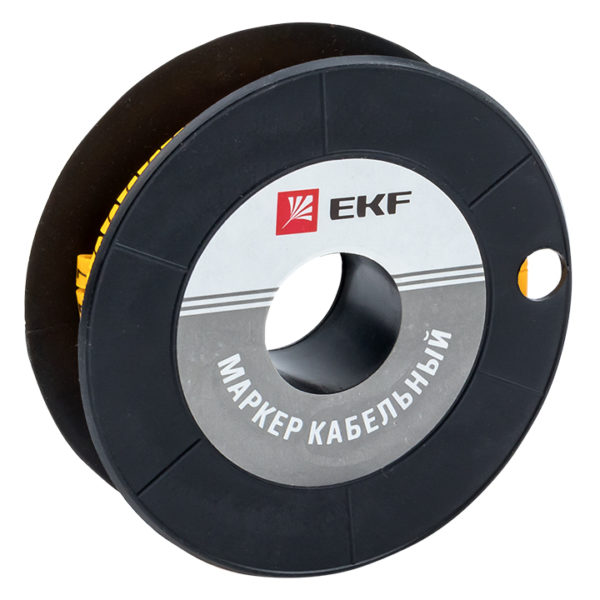 "Маркер кабельный 4,0 мм2 ""7"" (500 шт.) (ЕС-2) EKF PROxima"