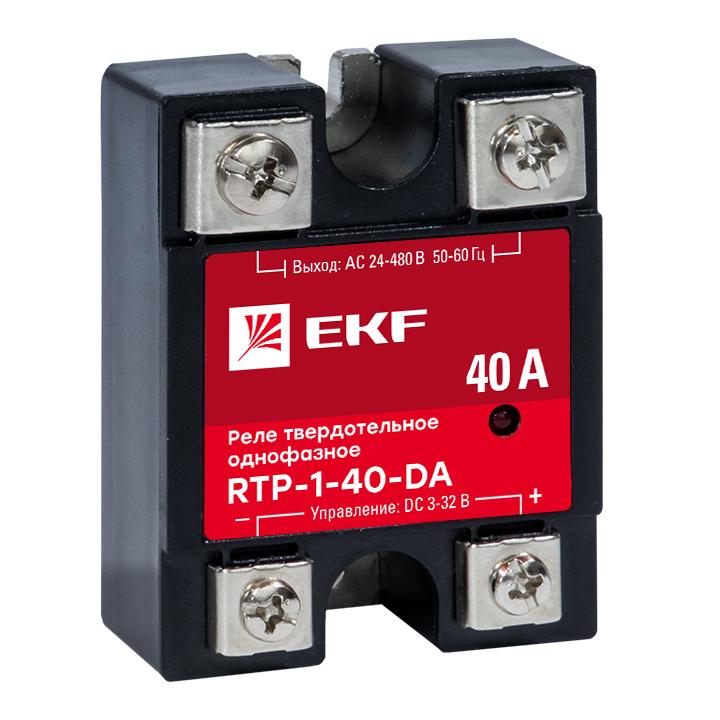 Реле твердотельное однофазное RTP-40-DA EKF PROxima