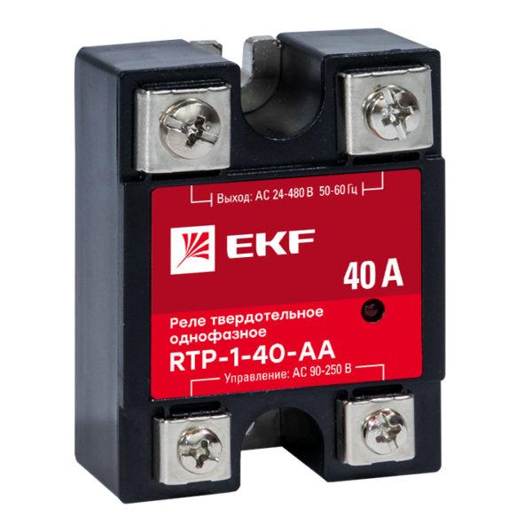 Реле твердотельное однофазное RTP-40-AA EKF PROxima