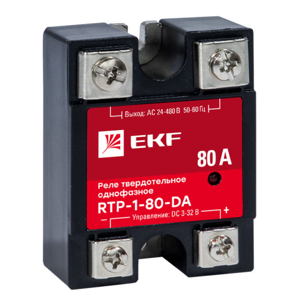 Реле твердотельное однофазное RTP-80-DA EKF PROxima