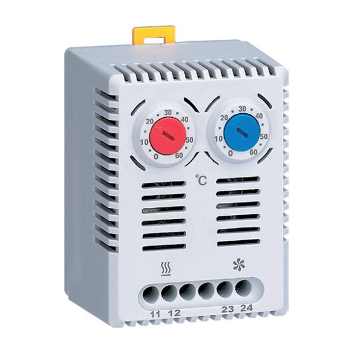 Термостат NO+NC (охлаждение и обогрев) на DIN-рейку 10A 230В IP20 EKF PROxima