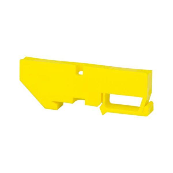 Изолятор на DIN-рейку желтый EKF PROxima
