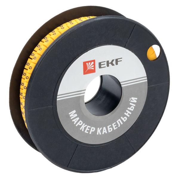 "Маркер кабельный 4,0 мм2 ""9"" (500 шт.) (ЕС-2) EKF PROxima"